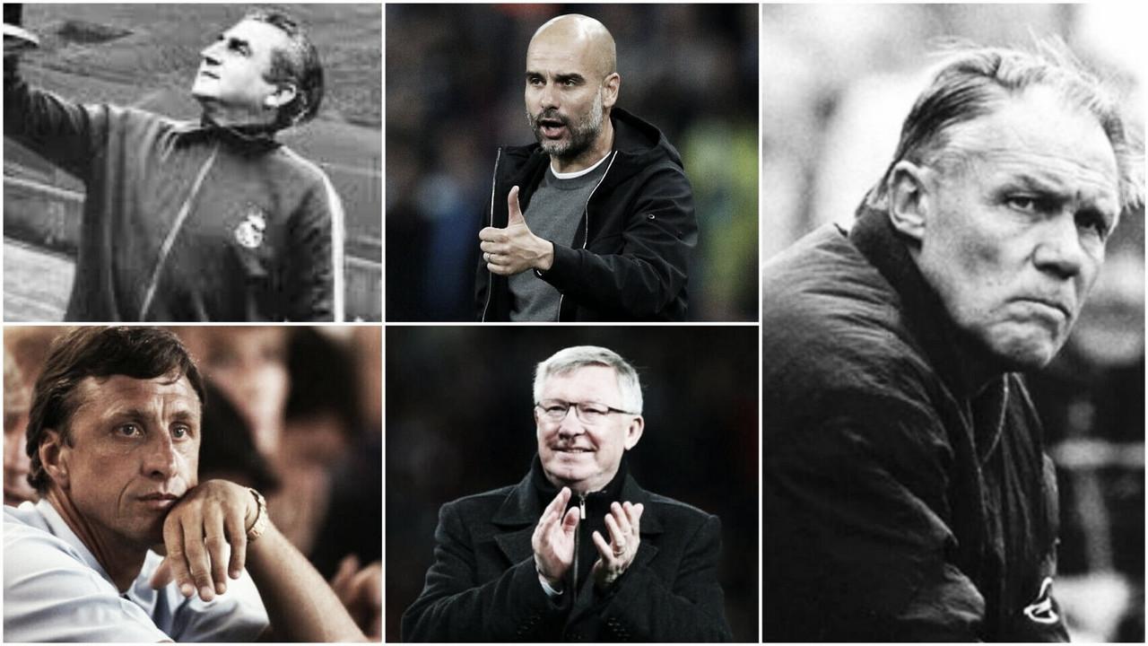 Los 50 mejores técnicos de la historia del fútbol