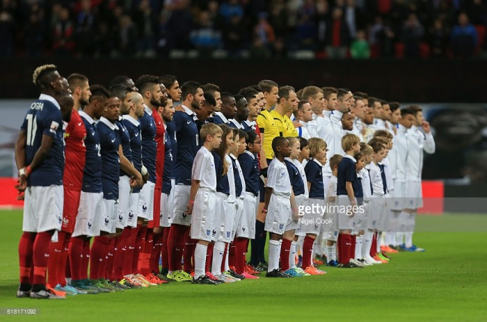 Ousmane Dembele leads 10-man France to friendly win over England
