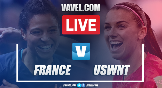 USWNT vs France: Live Stream Updates and How to Watch FIFA Women's World Cup 2019 (0-0)