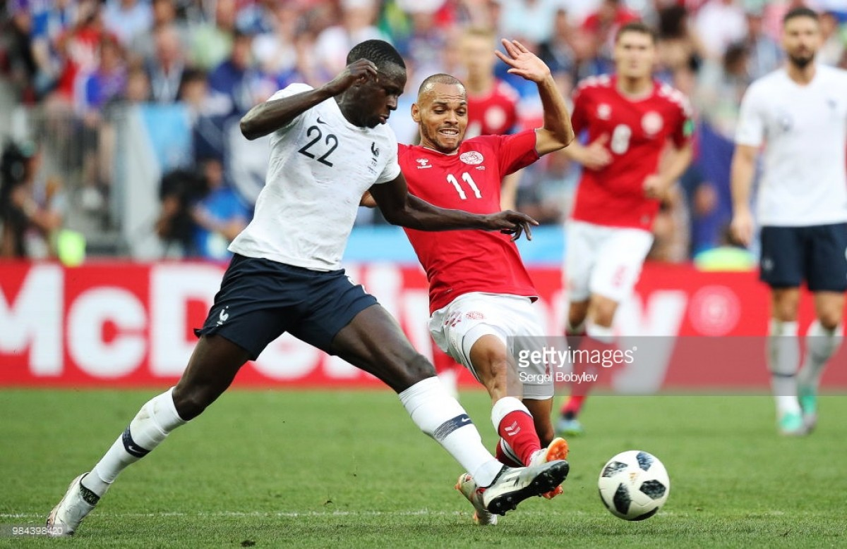 Denmark 0-0 France: First goalless draw of World Cup sends Danes to Round of 16