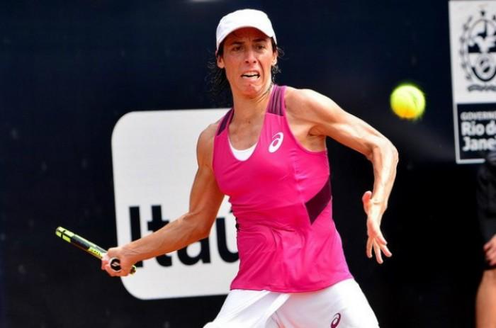 WTA Rio: Schiavone di carattere