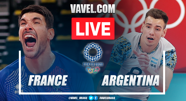 Points and best moments of France 3x0 Argentina men's volleyball Tokyo 2020 Olympics