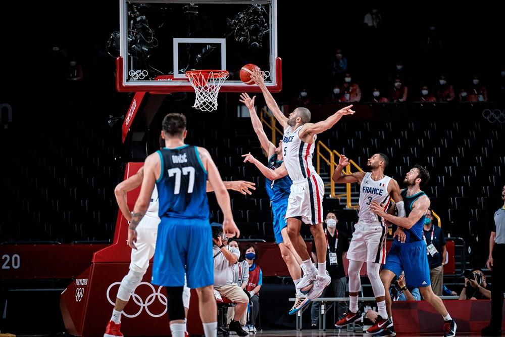 Resumen y mejores momentos del Eslovenia 89 - 90 Francia en Tokio 2020