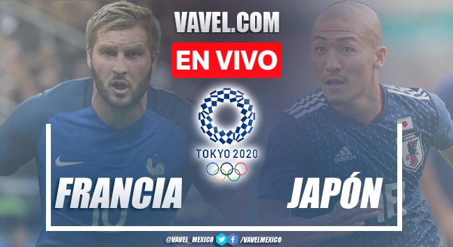 Goles y resumen del Francia 0-4 Japón en Tokio 2020