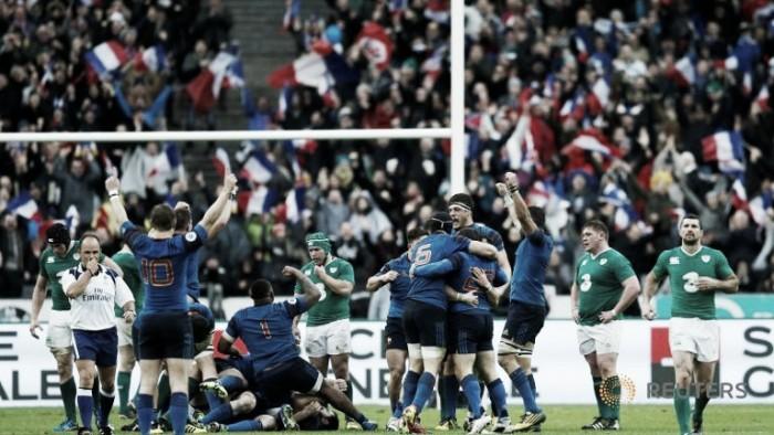 Torneo de las Seis Naciones 2016: Francia trepó a la punta tras vencer ajustadamente a Irlanda