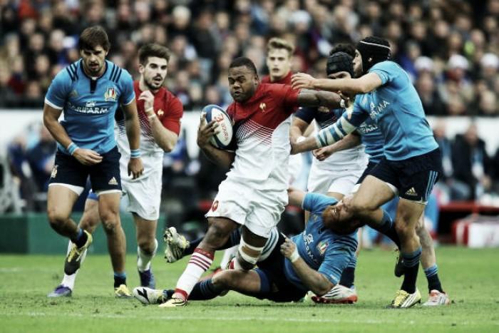 En la apertura del Torneo de las Seis Naciones, Francia comenzó la era Novés con un ajustado triunfo ante Italia