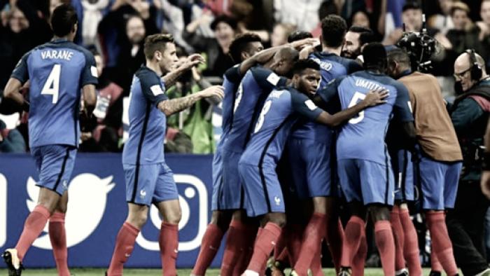 Qualificazioni Russia 2018 - Francia vincente e al Mondiale: 2-1 alla Bielorussia col brivido