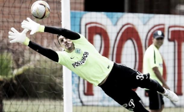 """Franco Armani: """"hay estar tranquilos que los goles van a venir"""""""