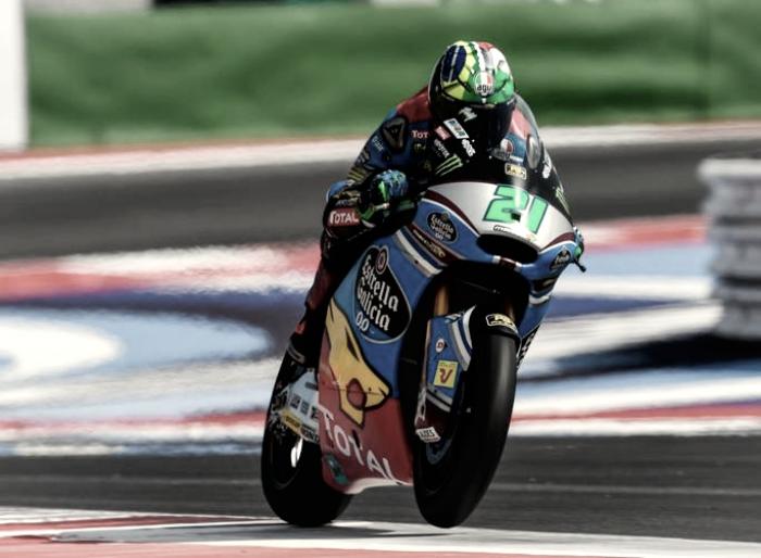 Moto2 Gp Misano: Morbidelli out, Mondiale riaperto. Festa Svizzera: Aegerter-Luthi
