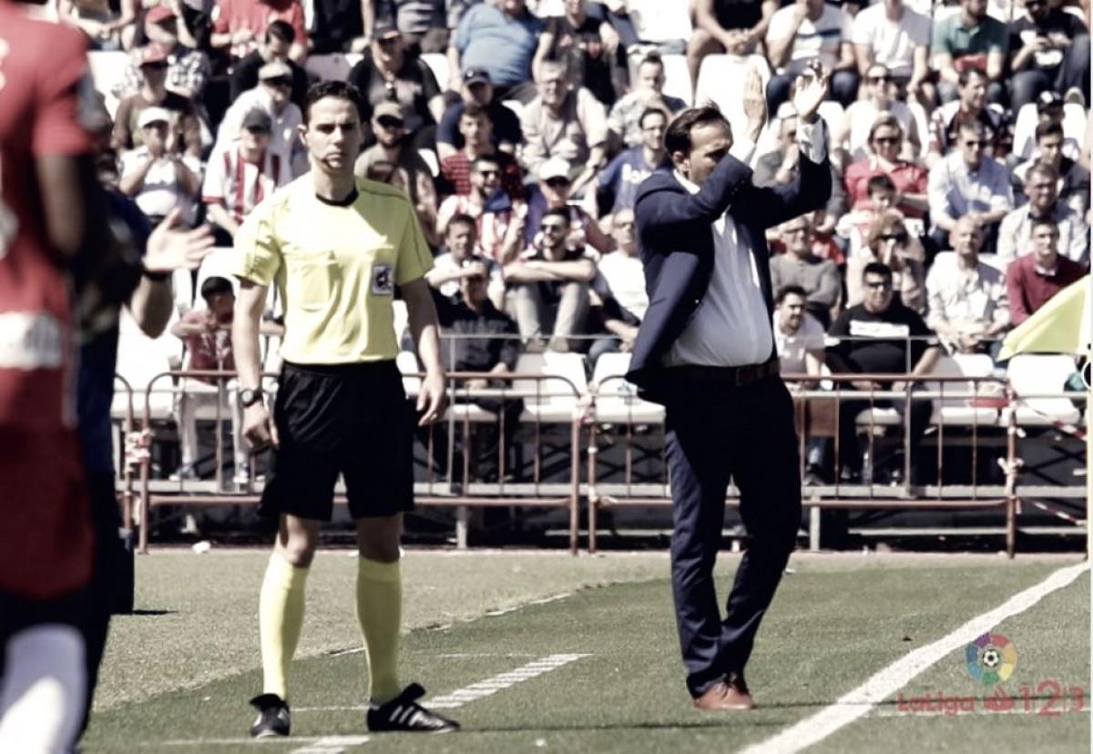 """Fran Fernández: """"La afición hoy ha estado de diez"""""""