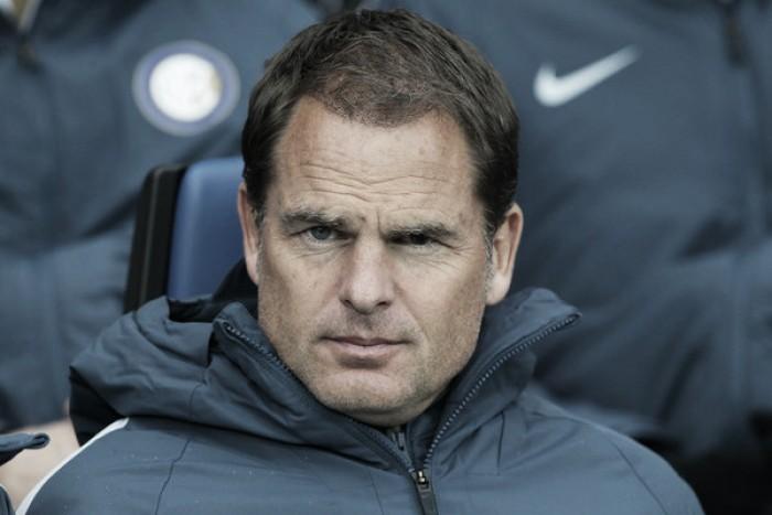 """De Boer lamenta derrota da Inter para Atalanta: """"Não estávamos concentrados"""""""