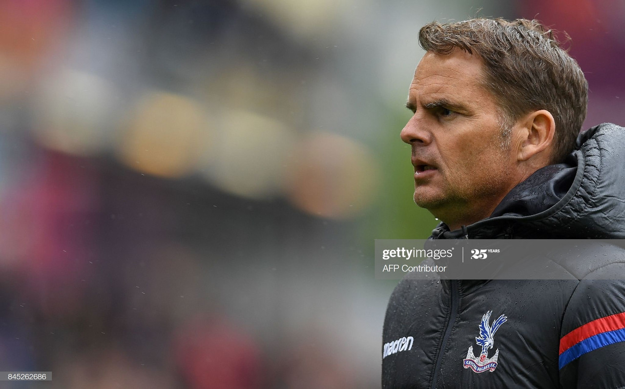 Frank De Boer's 77 days at Crystal Palace