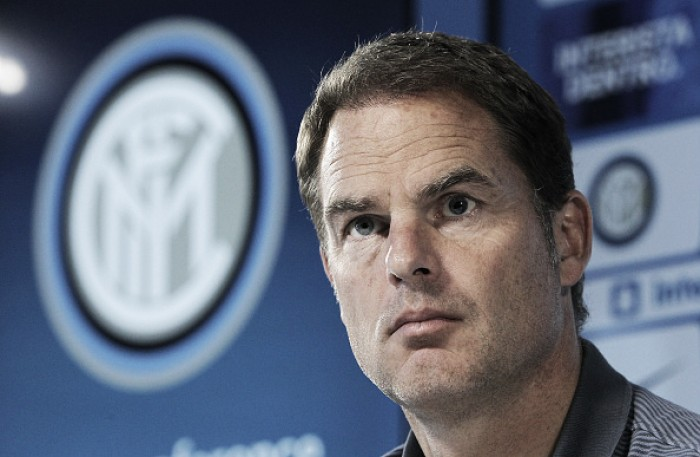 Frank de Boer não suporta pressão e é demitido da Internazionale após 84 dias
