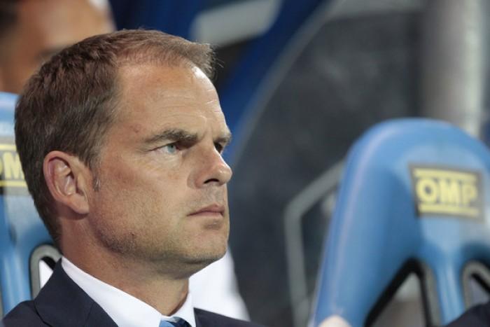 Inter, l'affondo di De Boer