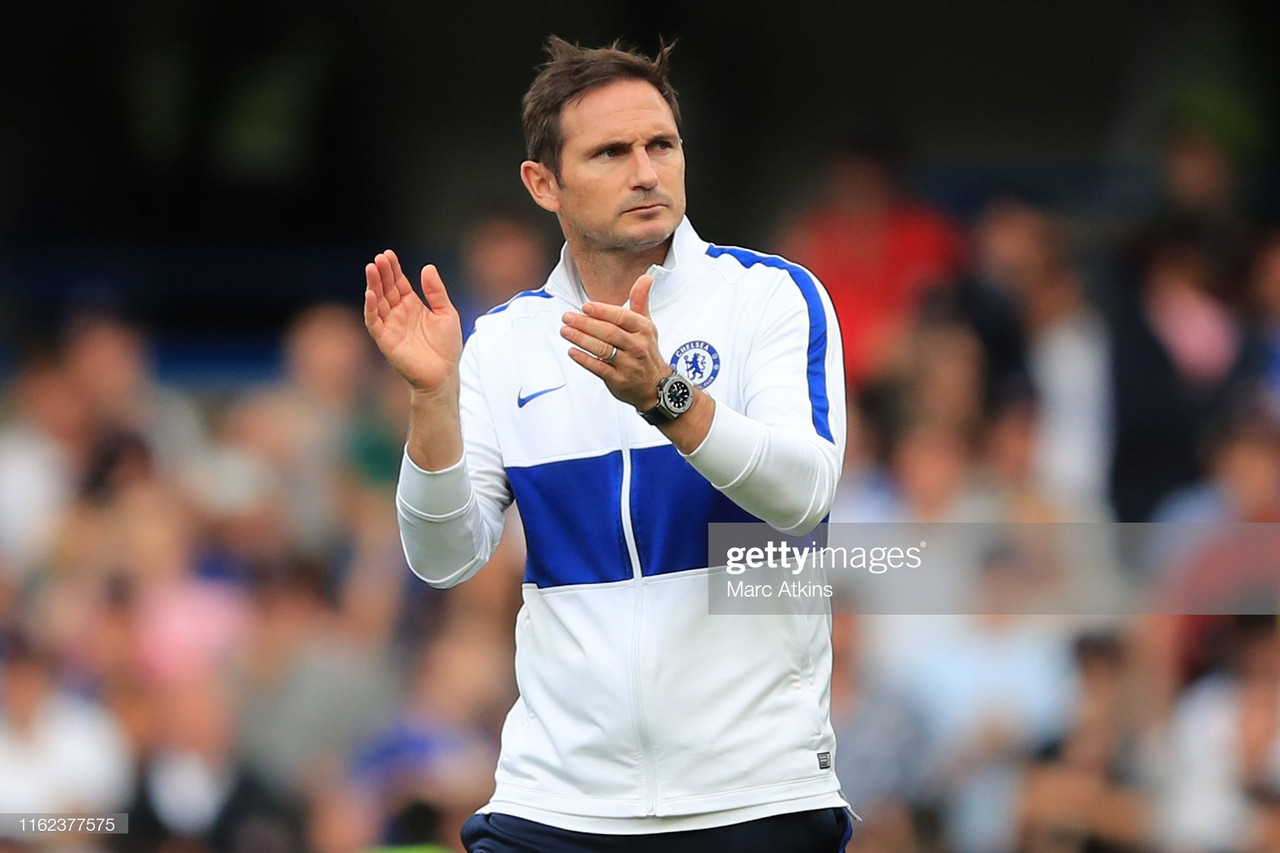 Lampard admits 'the first 25 minutes was how we want to play'