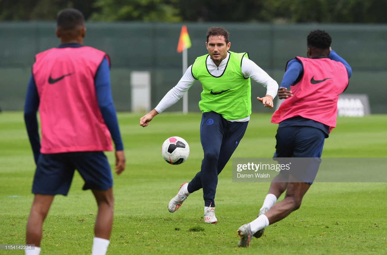 Azpilicueta admits Lampard wants to regain Chelsea's high-intensity style of play