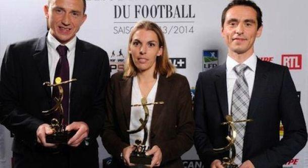 Stéphanie Frappart, première arbitre féminine en Ligue 2