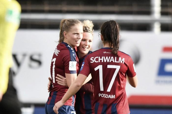Viktoria Schwalm e Sarah Zadrazil estendem o contrato com o Turbine Potsdam
