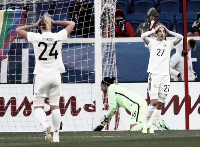 France and Germany draw on day two of the 2017She Believes Cup