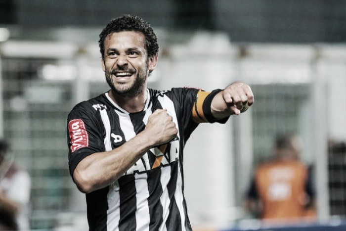 Destaque do Atlético-MG, Fred celebra triunfo contra Vitória em 'noite maluca'