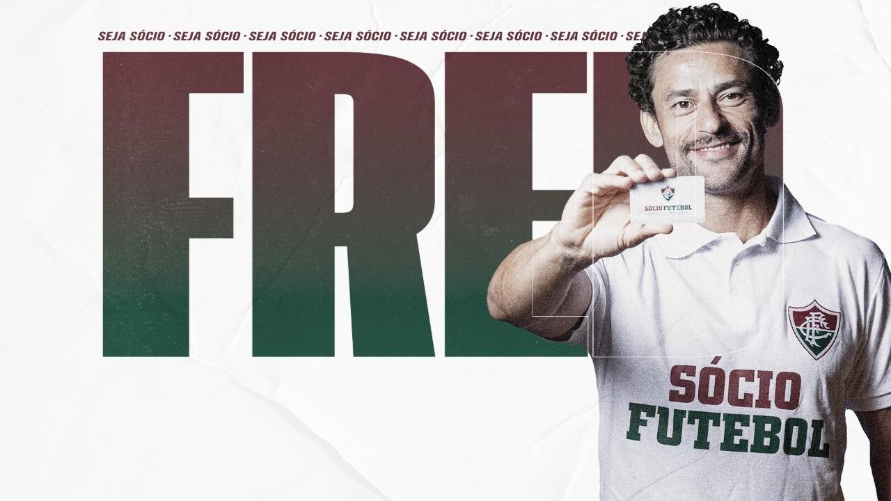Fred afirma que vai de BH ao Rio de bicicleta para se apresentar no Fluminense