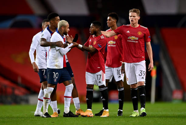 Fred argues with Mbappe, Getty Images