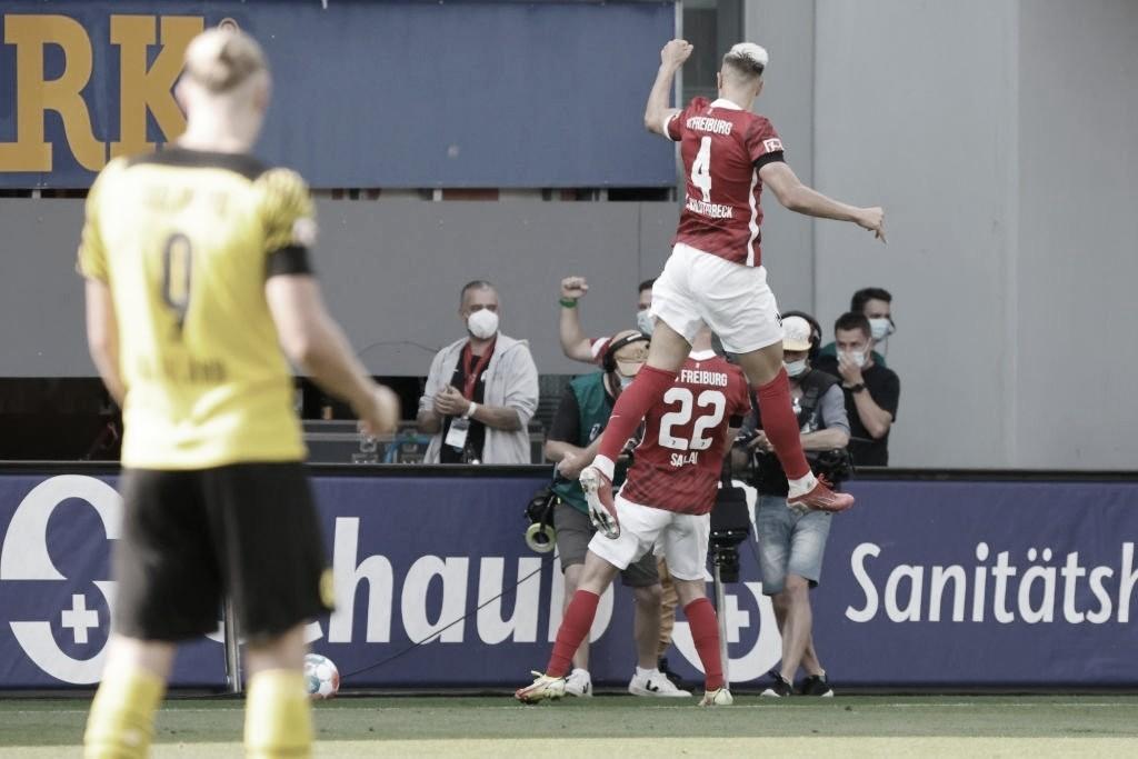 Depois de goleada na estreia, Borussia Dortmund perde para o Freiburg