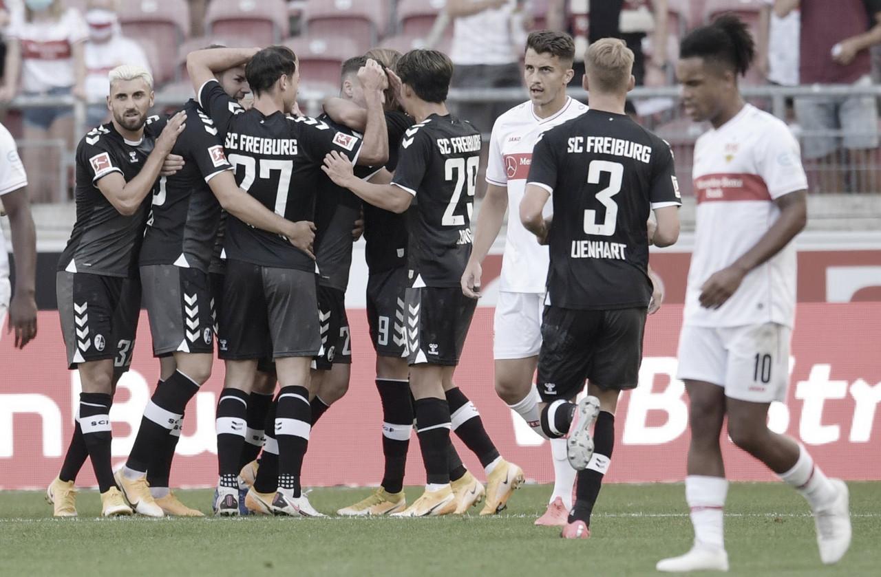 Freiburg sofre pressão do Stuttgart no fim, mas garante vitória na estreia da Bundesliga