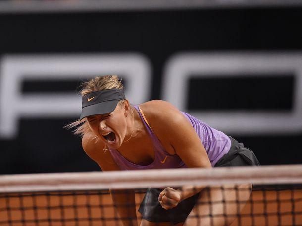 Sharapova arrolla a Errani y se mete en la final de Sttutgart