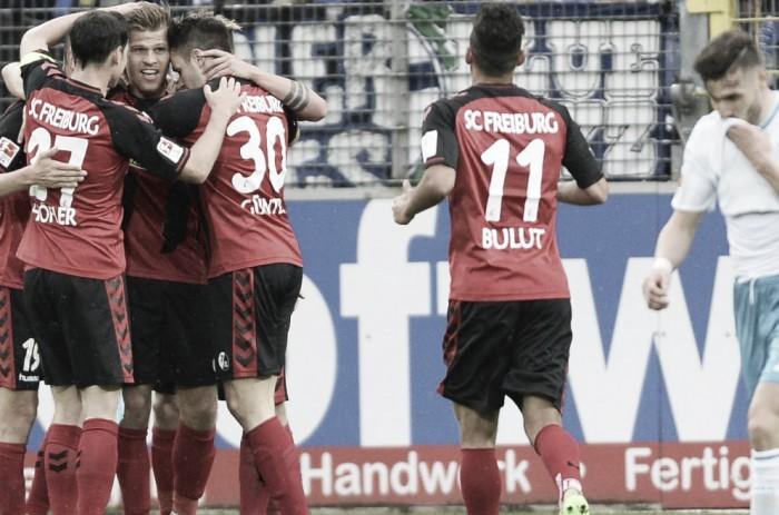 La domenica di Bundesliga - Il Friburgo vola al quinto posto. Mainz e Amburgo, pari e graticola