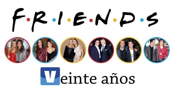 Se cumplen veinte años de la primera emisión de 'Friends'