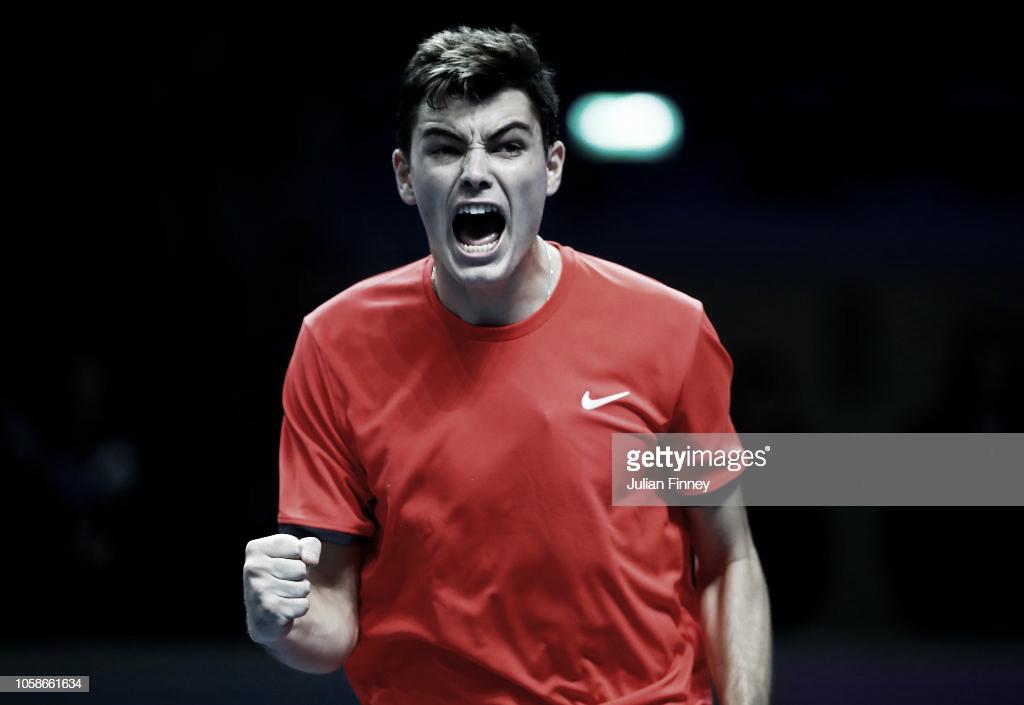 Fritz continúa con vida en las Next Gen ATP Finals