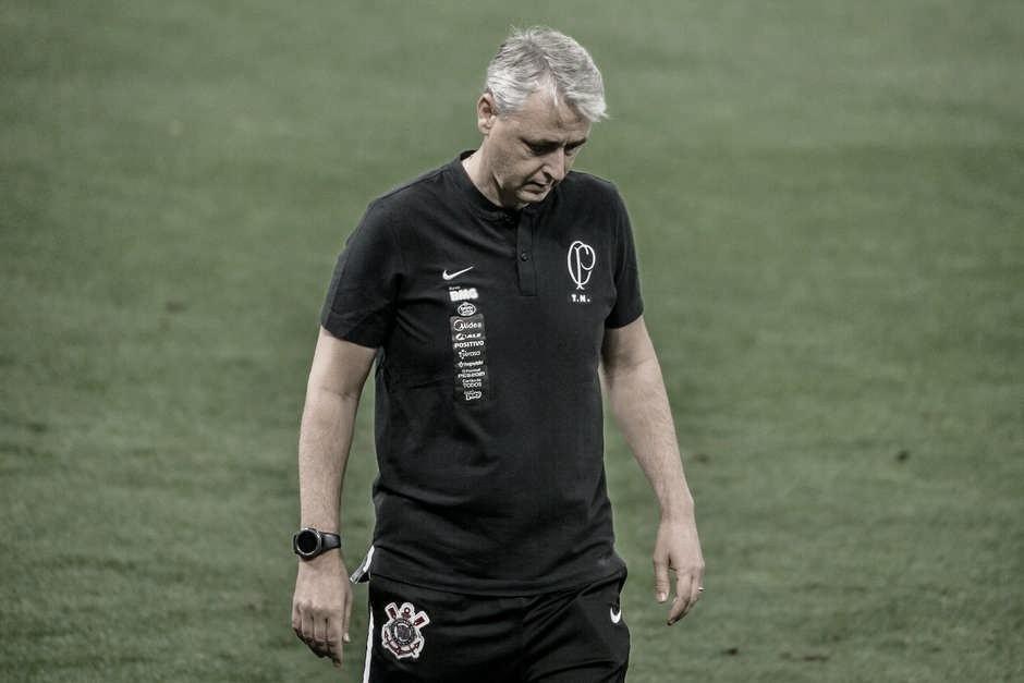 Tiago Nunes não é mais treinador do Corinthians