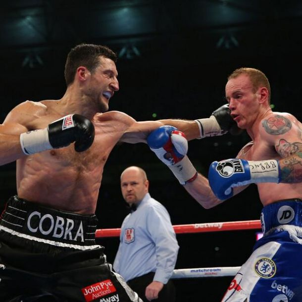 Carl Froch noqueó a George Groves en la revancha