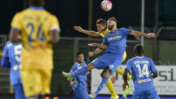 Risultato Empoli - Frosinone, Serie A 2015/2016 (1-2): Ciofani, Maccarone, Ciofani