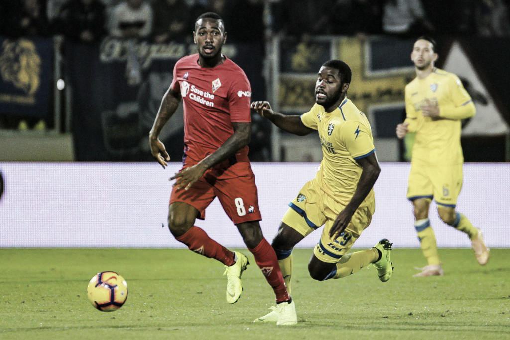 Frosinone busca gol no fim e impõe quarto empate seguido à Fiorentina