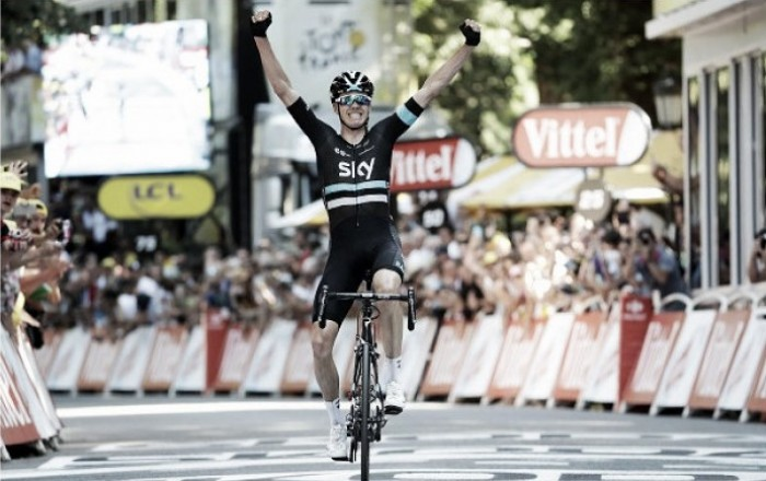 Tour de France: Chris Froome claims Yellow Jersey in emphatic stage win