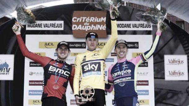 Chris Froome fa sua l'ultima tappa del Giro del Delfinato aggiudicandosi la corsa