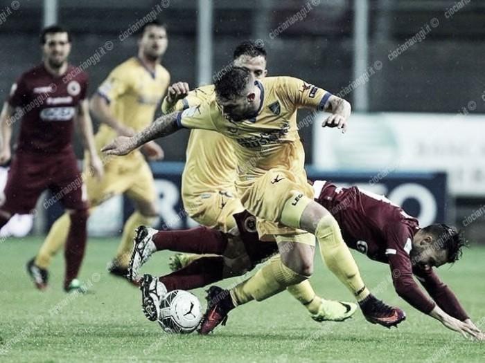 Serie B - Frosinone fermato sull'1-1 dal Cittadella, a Ciofani risponde Bartolomei