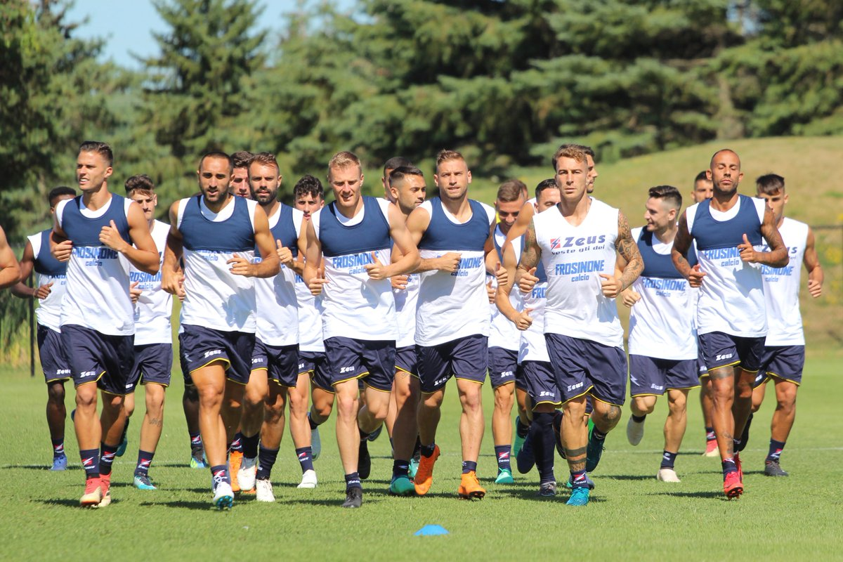 """Frosinone, senti Longo: """"A Napoli per fare la nostra gara, Ciano sta bene ma non al 100%"""""""