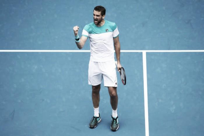 Cilic bate Carreño Busta e avança às quartas do Australian Open em dia histórico