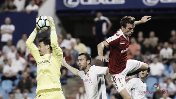 El Real Zaragoza empata por segunda vez en la Romareda