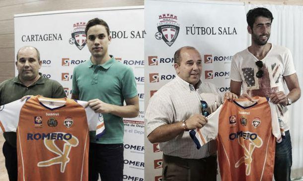 Rubén Zamora y Jesús Izquierdo se incorporan al proyecto de Cartagena