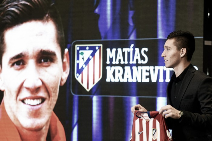 Atlético de Madrid empresta volante Kranevitter ao Sevilla por uma temporada