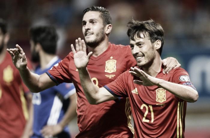 Qualificazioni Mondiali, gruppo G: la Spagna disintegra il Liechtenstein (8-0)