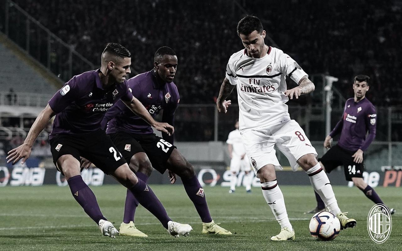 Victoria importante del Milan sobre Fiorentina