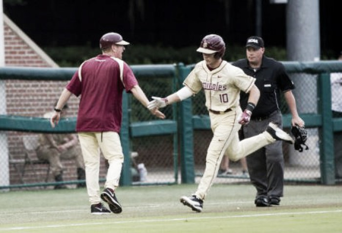 Florida State Seminoles rout Sam Houston State Bearkats 19-0, advance to College World Series