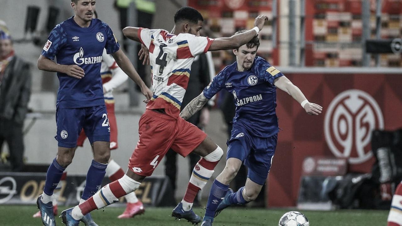Em jogo morno, Schalke 04 e Mainz empatam na Bundesliga