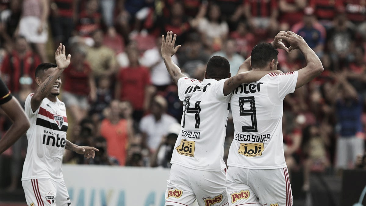 São Paulo vence Sport e mantém a liderança do Brasileiro 2018
