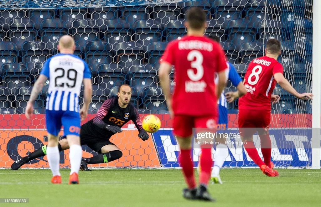 Kilmarnock crash out of Europe after losing to Connah's Quay Nomads.